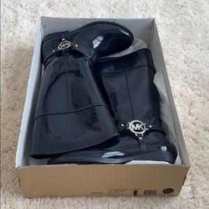 Navy Blue Michael Kors Rain boots